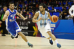 Argentina´s Campazzo (R) and Greece´s Mantzaris during FIBA Basketball World Cup Spain 2014 match between Argentina and Greece at Sevilla stadium in Sevilla, Spain. September 04, 2014. (ALTERPHOTOS/Victor Blanco)