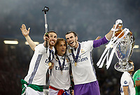 Calcio, Champions League: finale Juventus vs Real Madrid. Cardiff, Millennium Stadium, 3 giugno 2017.<br />