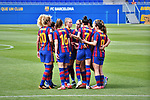 Liga IBERDROLA. Game 16.<br /> FC Barcelona vs UDG Tenerife Egatesa: 6-1.