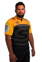 Leni Apisai. Hurricanes Super Rugby official headshots at Rugby League Park, Wellington, New Zealand on Wednesday, 6 January 2016. Photo: Dave Lintott / lintottphoto.co.nz