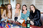 Enjoying the evening in Benners on Thursday, l to r: Emma Moynihan, Laura Falvey, Meabh  Horgan and Alison Moriarty, all from Tralee.