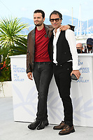 CANNES, FRANCE. July 10, 2021: Jules Benchetrit & Samuel Benchetrit at the photocall for Love Songs for Tough Guys at the 74th Festival de Cannes.<br /> Picture: Paul Smith / Featureflash