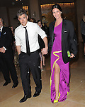 Dave Annable and Odette Annable exiting The 70th Annual Golden Globe Awards held at The Beverly Hilton Hotel in Beverly Hills, California on January 13,2013                                                                   Copyright 2013 Hollywood Press Agency