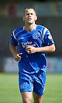 St Johnstone FC.... Season 2010-11.Danny Grainger.Picture by Graeme Hart..Copyright Perthshire Picture Agency.Tel: 01738 623350  Mobile: 07990 594431