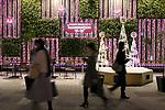 Pedestrians walk past the illuminations at Shinjuku Terrace City on November 16, 2017, Tokyo, Japan. Shinjuku Terrace City Illuminations are seen around Odakyu Line Shinjuku Station. This year marks the 12th year of the illumination event, which can be enjoyed until February 22, 2018. (Photo by Rodrigo Reyes Marin/AFLO)