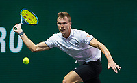 Rotterdam, The Netherlands,7 march  2021, ABNAMRO World Tennis Tournament, Ahoy,  <br /> Final: Final: Marton Fucsovics (HUN). <br /> Photo: www.tennisimages.com/henkkoster