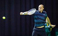 Rotterdam, The Netherlands, 12 Februari 2019, ABNAMRO World Tennis Tournament, Ahoy, first round singles: Marius Copil (ROU),<br /> Photo: www.tennisimages.com/Henk Koster
