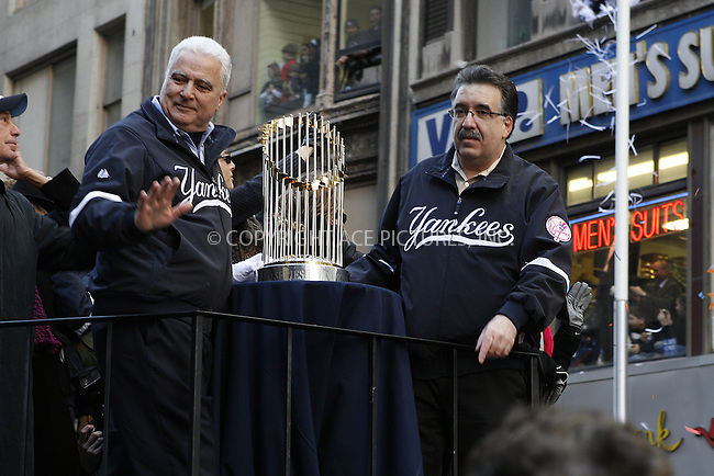 WWW.ACEPIXS.COM . . . . .  ....November 6 2009, New York City....The New York Yankees world series victory parade on November 6 2009 in New York City....Please byline: NANCY RIVERA- ACE PICTURES.... *** ***..Ace Pictures, Inc:  ..tel: (212) 243 8787 or (646) 769 0430..e-mail: info@acepixs.com..web: http://www.acepixs.com