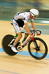 Wong Chi Kit of IND competes in the Omnium category during the Hong Kong Track Cycling Race 2017 Series 6 at Hong Kong Velodrome on 12 March 2017, in Hong Kong, China. Photo by Marcio Rodrigo Machado / Power Sport Images