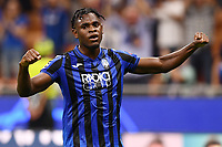Duvan Zapata of Atalanta celebrating after score a goal.<br /> Milano 01-10-2019 Stadio Giuseppe Meazza <br /> Football Champions League 2019//2020 <br /> Group Stage Group C <br /> Atalanta - Shakhtar Donetsk  <br /> Photo Image Sport / Insidefoto