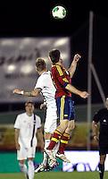 Spain's  Illarramendi and Norway's Jonassen during an International sub21 match. March 21, 2013.(ALTERPHOTOS/Alconada) /NortePhoto