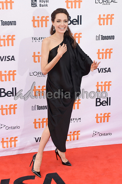 """11 September 2017 - Toronto, Ontario Canada - Angelina Jolie. 2017 Toronto International Film Festival - """"First They Killed My Father"""" Premiere held at Princess of Wales Theatre. Photo Credit: Brent Perniac/AdMedia"""
