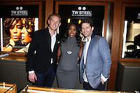 LOS ANGELES, CA, USA - SEPTEMBER 04: Kelly Rowland, Matthew Morrison attend Kelly Rowland's New TW Steel Canteen Bracelet Watch Showcase at Feldmar Watch Company on September 4, 2014 in Los Angeles, California, United States. (Photo by Xavier Collin/Celebrity Monitor)