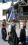 AUT, Oesterreich, Salzburger Land, Lungau, Mauterndorf: Prozession   AUT, Austria, Salzburger Land, Lungau, Mauterndorf: procession