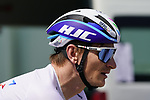 Andre Greipel (GER) Israel Start-Up Nation before Stage 2 of the 2021 UAE Tour an individual time trial running 13km around  Al Hudayriyat Island, Abu Dhabi, UAE. 22nd February 2021.  <br /> Picture: Eoin Clarke | Cyclefile<br /> <br /> All photos usage must carry mandatory copyright credit (© Cyclefile | Eoin Clarke)