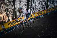 Tom Pidcock (GBR/Trinity)<br /> <br /> Men's Race<br /> UCI Cyclocross World Cup Namur 2020 (BEL)<br /> <br /> ©kramon