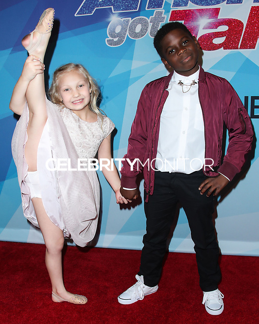HOLLYWOOD, LOS ANGELES, CA, USA - AUGUST 15: Artyon and Paige arrives at NBC's 'America's Got Talent' Season 12 Live Show held at Dolby Theatre on August 15, 2017 in Hollywood, Los Angeles, California, United States. (Photo by Xavier Collin/Celebrity Monitor)