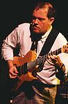 John Abercrombie, Nov, 1990 : John Abercrombie performing at Blue Note Tokyo/Jazz Club. Tokyo, Japan.