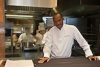 Europe/Monaco/Monte Carlo:Marcel Ravin, chef du Restaurant Le Blue Bay, à l'Hôtel Monte Carlo Bay,