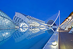 Europe, Spain, Valencia, City of Arts and Sciences (Ciudad de las Artes y de las Cenciea de la Valencia)