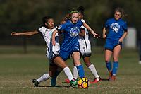 Lakewood Ranch, FL - Sunday Dec. 10, 2017: Croix Bethune (11) during the 2017 Development Academy Winter Showcase & Nike International Friendlies at Premier Sports Campus at Lakewood Ranch, FL.