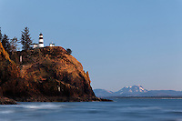 Cape Disappointment Lighthouse, Cape Disappointment State Park, Washington, USA