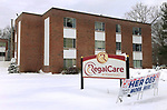 WATERBURY CT. - 18 December 2020-121820SV04-National Guard helps convalescent home rapid-test all employees for COVID-19 at Regal Care Convalescent Home in Waterbury Friday.<br /> Steven Valenti Republican-American