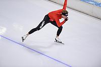SCHAATSEN: HEERENVEEN, IJsstadion Thialf, 17-10-2020, KNSB Trainingswedstrijd, TJERK DE BOER, ©foto Martin de Jong