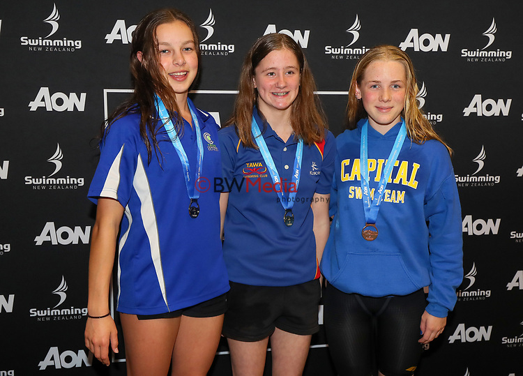 Session 1 of the AON New Zealand National Age Group Swimming Champs, Wellington Regional Aquatic Centre, Auckland, New Zealand. Monday 19 April 2021 Photo: Simon Watts/www.bwmedia.co.nz