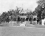 Lakewood NY: The Stewart family and students stayed at this Lakewood Boarding House during their trip to Lakewood/Lake Chautauqua. Photographs taken during a church field trip to Chautauqua Institution in New York (Lake Chautauqua). The Stewart family and friends visited Chautauqua during 1901 to hear Stewart relative, Dr. S.H. Clark  speak at the institute. Alice Brady Stewart chaperoned and Brady Stewart came along to photograph the trip.  The Gallery provides a glimpse of how the privileged and church faithful spent summers at Lake Chautauqua at the turn of the century.
