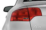Tail light close up detail view of a 2005 - 2008 Audi A4 3.2 Sedan.