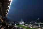 The cowd watch the race during the Longines Hong Kong International Races at Sha Tin Racecourse on December 10 2017, in Hong Kong, Hong Kong. Photo by Victor Fraile / Power Sport Images