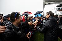 San Jose, CA: 01212019: San Jose Earthquakes Meet and Greet with Matias Almeyda at Avaya Stadium on Sunday January 21, 2019.