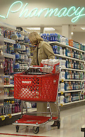 A customer shops in the pharmacy area of a Target store Tuesday, Nov. 14, 2006 in Columbus, Ohio.<br />