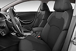 Front seat view of a 2010 Citroen C5 Confort 4 Door Sedan 2WD