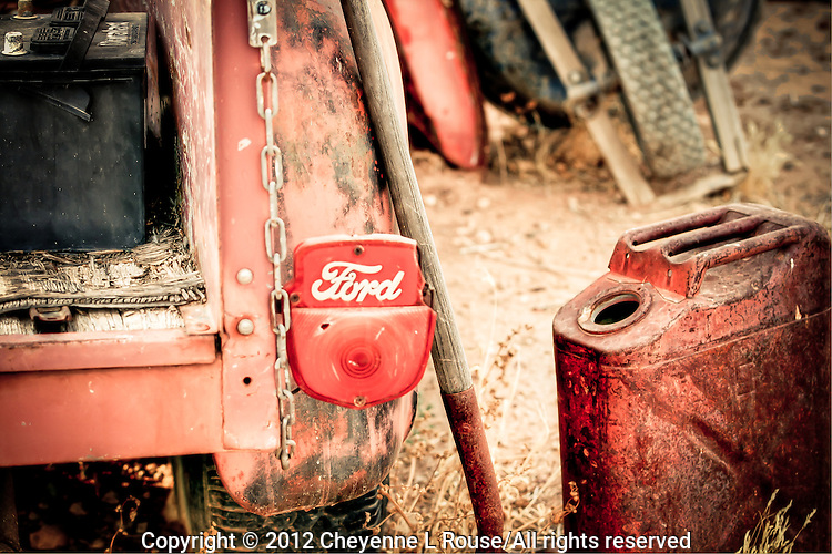 Arizona Ford Truck with rusty gas can