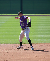 Aaron Schunk - Colorado Rockies 2020 spring training (Bill Mitchell)