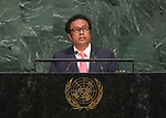 72 General Debate – 20 September <br /> <br /> His Excellency Tommy Esang Remengesau Jr., President of the Republic of Palau