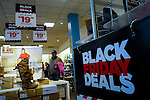 Customers crowd in stores during Black Friday Sales event in NJ