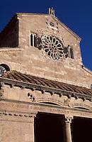romanische Kirche Santa Maria Assunta in Lugnano in Teverina, 12. Jh., Umbrien, Italien
