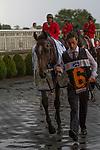 AUG 15 ,2015: Highland Reel,ridden by Seamie Hefferman,wins the Secretariat Stakes at Arlington International Race Track in Arlington Heights,IL. Kazushi Ishida/ESW/CSM