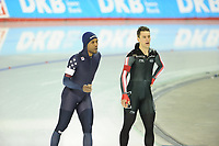 SPEEDSKATING: CALGARY: Olympic Oval, 03-12-2017, ISU World Cup, 1500m Men, Division A, Shani Davis (USA), Denny Morrison (CAN), ©photo Martin de Jong
