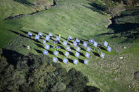 rural solar panel installation in the Mayacamas Mountains, Napa Valley, California
