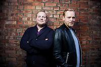 Oslo, 20100922. Steinar Sagen og Tore Sagen. Er begge film-aktuelle høsten 2010. Foto: Eirik Helland Urke / Dagbladet