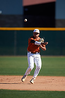 Christian Escobedo during the Under Armour All-America Tournament powered by Baseball Factory on January 19, 2020 at Sloan Park in Mesa, Arizona.  (Zachary Lucy/Four Seam Images)