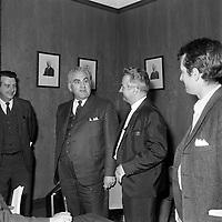 Le ministre Maurice Bellemare<br /> , le 26 Juin 1969<br /> <br /> Photo : Photo Moderne - © Agence Quebec Presse