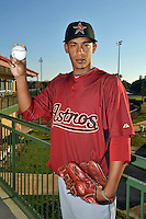 Feb 25, 2010; Kissimmee, FL, USA; The Houston Astros pitcher Henry Villar (92) during photoday at Osceola County Stadium. Mandatory Credit: Tomasso De Rosa/Four Seam Images