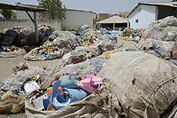 Senegal, Thies, plastic recycling company Proplast industries / Plastik Recycling Unternehmen ProPlast Industrie