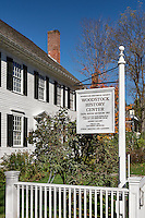 Woodstock Historical Society and Dana House Museum, Woodstock, Vermont, USA