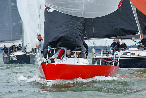 Olivia Dowling's Quarter Tonner Catch enjoyed a great day back on the Solent